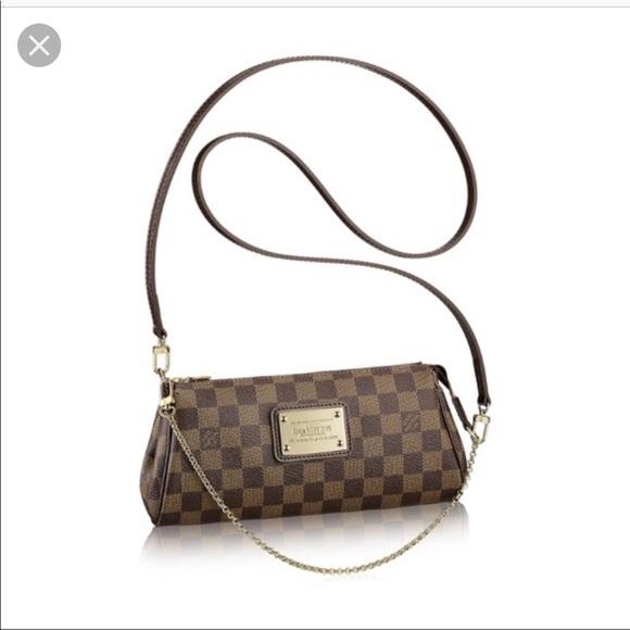 a2cf9bf2f Louis Vuitton Bags   Auth Damier Ebene Eva Crossbody   Poshmark